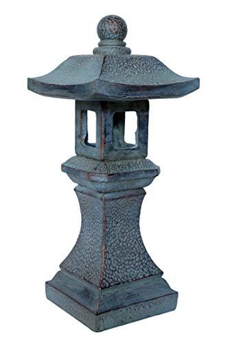 Pagoda Lantern Statue 16' - Oriental Themed Yard & Garden Decor HF-S006
