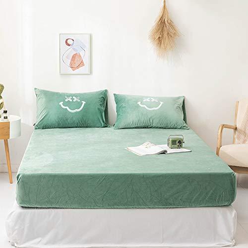 haiba Protector de colchón impermeable antialérgico, 150 x 200 cm+25 cm