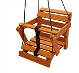 AN-74-K KML columpio balancín Baby grande de madera 5posiciones. Niños Balancín Madera,...
