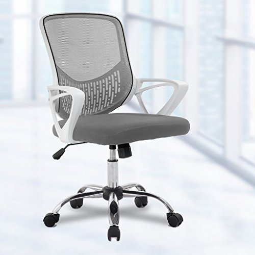 Canyi Z Computer Stuhl Büro schwarz Pulley Bürostuhl multifunktionale Bund Mesh Stuhl Swivel Lift Konferenzstuhl Multi-Color optional (Farbe : F)