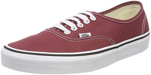 Vans Unisex Authentic Sneaker, Rot (Apple Butter/True White Q9S), 43 EU