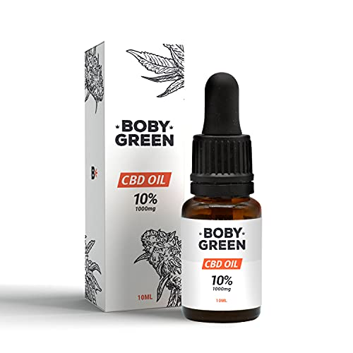 CBD Oil | Aceite CBD 10% | Bobygreen | Aceite de cáñamo...
