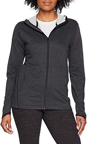 Adidas FL Prime Hoodie Sudadera, Mujer, Carbon/Black, S