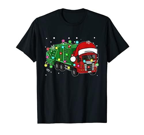Juguete de camión de basura divertido regalo para amantes de camiones de basura Camiseta