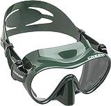 Cressi F1 Mask Máscara Monocristal Tecnología Frameless, Unisex, Verde, L