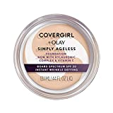 Covergirl & Olay Simply Ageless Instant Wrinkle-Defying Foundation, Classic Beige