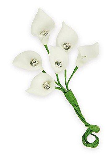 Calla Lilies Favor Decoration Flower White