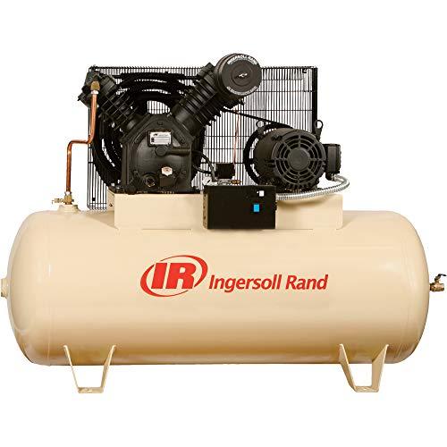 Ingersoll-Rand (2545E10V-FP) 10HP 120-Gallon Horizontal Air...