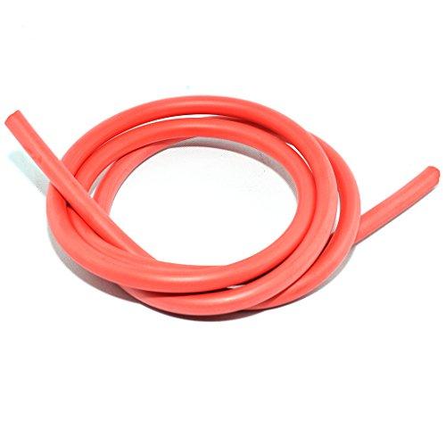 Cable de encendido Silicon Rojo 1Mtr. 7mm