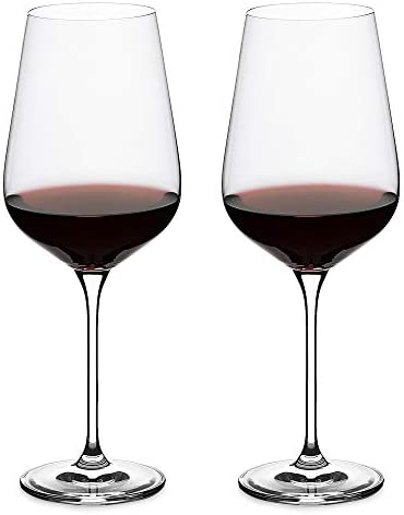 LUXU Wine Glasses Set of 2 27 oz Hand Blown Large Red or White Wine Cups Universal Long Stemmed product image