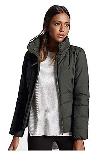Marks & Spencer M&S - Cappotto imbottito e trapuntato con Storm Wear da donna, giacca leggera e calda Porpora 40