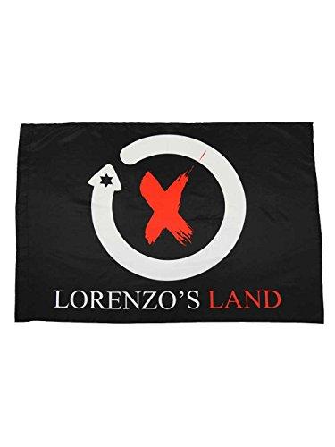 Bandera Jorge Lorenzo Oficial 100x70cm.