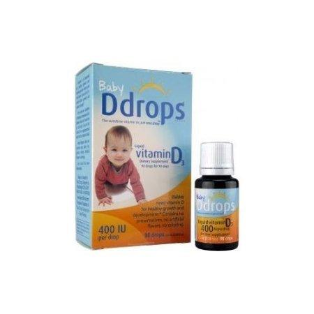 赤ちゃん用 ビタミンD (400 IU 90 drops)(海外直送品)