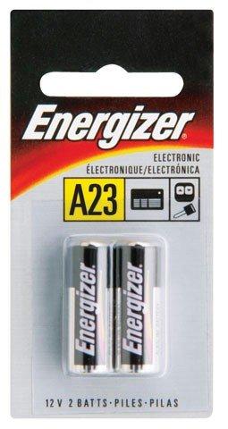 BATTERY ENERGIZER #A23 2 PACK 12V ALKALINE