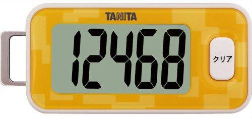 タニタ(TANITA) 3Dセンサー搭載歩数計 橙 FB-731-OR