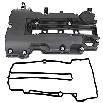 Engine Valve Cover kit w/Gaskets & Bolts Compatible with 2011-2020 Chevrolet Chevy Cruze Sonic Volt Trax Buick Encore Cadillac ELR 1.4L L4 Replaces # 25198874 55573746 264-968