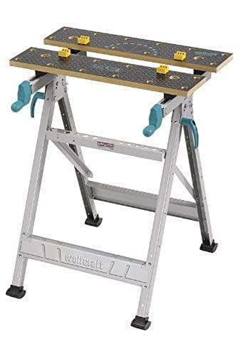 wolfcraft Mesa de trabajo y de sujeción MASTER 200, 6177000, La mesa de trabajo y de sujeción robusta
