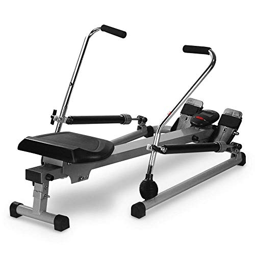 DSHUJC Rowing Machine,New Model Rowing Machine,Fitness Cardio Workout Air Resistance Home Rowing Machine,with Adjustable Resistan