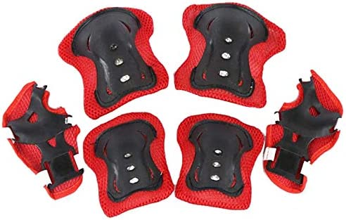 Kids Youth Protective Gear Set Elbow Pads Knee Pad Wrist Guard Set for Inline Skating Roller product image