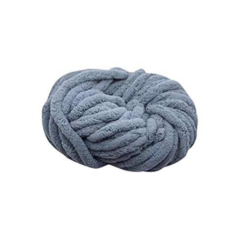 Kathrin - Manta de lana gruesa para tejer con lana gruesa, gruesa, hecha a mano de felpa, manta de...
