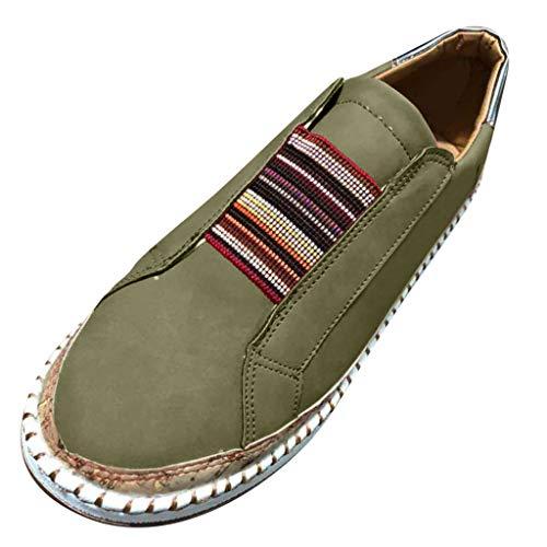 Luckycat Damesschoenen, strandschoenen, casual, zomer, mocassins, leer, plat, comfortabel, casual, mocassins, loafers, maat 35-43
