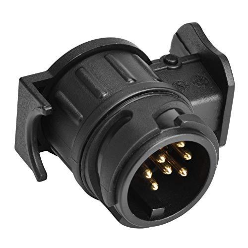13-pins naar 7-pins adapter, 12 V, 13-polige op 7-polige N & S stekkerdoos adapter stekker converter stekker voor aanhanger caravans bedrijfsvoertuig