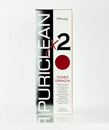 Puriclean X2 Same-Day Detox Drink, Instant Cleansing Technology - Specifically formulated W/Two Unique Proprietary Blends Designed to Be Double The Strength of Any 32 Oz Liquid On The Market (1 Pack)