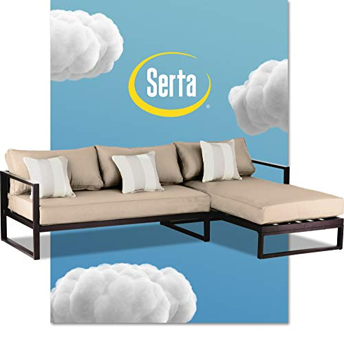 Sertaserta Tahoe Brown Resin Wicker Outdoor Patio Furniture Collection Porch Or Pool Garden All Weather With Thick Seat Cushion Sectional Dailymail