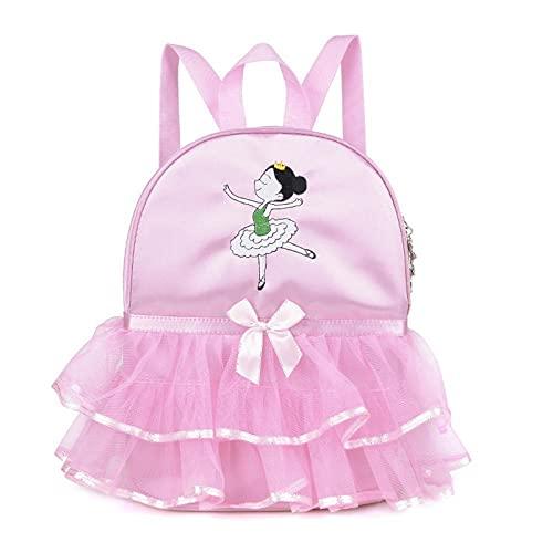 XNL Neue Kinder Tanztasche Mädchen Ballettpaket Mode Practice Rucksack Dance Book Bag Dance Rucksack Custom B