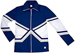 Chasse Youth Girls Metallic Double Knit Cheer Warm-Up Jacket