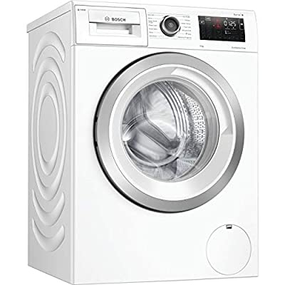 Bosch WAU28PH9GB Serie 6 Freestanding Washing Machine with i-Dos, Home Connect and SpeedPerfect, 9kg load, 1400rpm spin, White