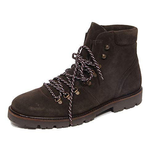 Selected G2460 Stivaletto Uomo Homme Brown Suede Vintage Effect Boot Man [45]