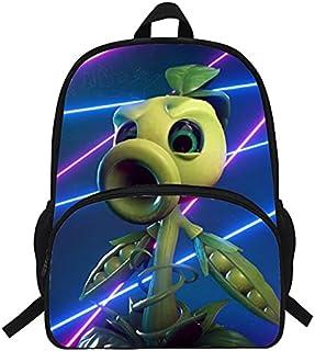 School Bags - Kids Bags Game Sunflower Peashoter School Bags For Boy Girls Kindergarten Schoolbag Children School Backpack...