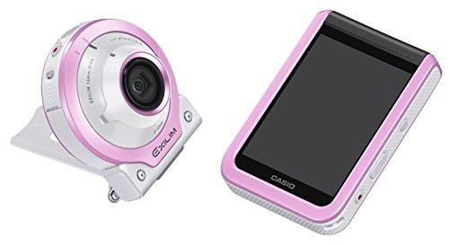 CASIO デジタルカメラ EXILIM EX-FR100LPK カメラ部/モニター部分離 セルフィーが簡単 3つのこだわり自分撮...