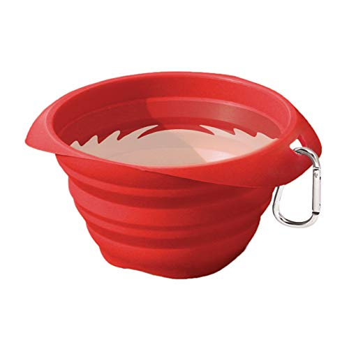 Kurgo Collapsible & Portable Travel Dog Bowl for Food & Water | Portable Water for Dogs | Food Grade...