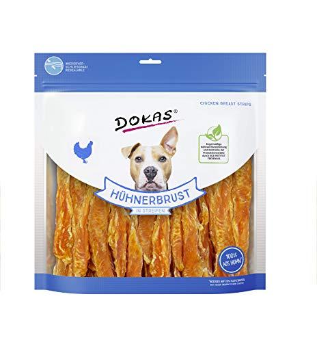 DOKAS Getreidefreier Premium Snack in Streifen für Hunde – Ideal für zwischendurch