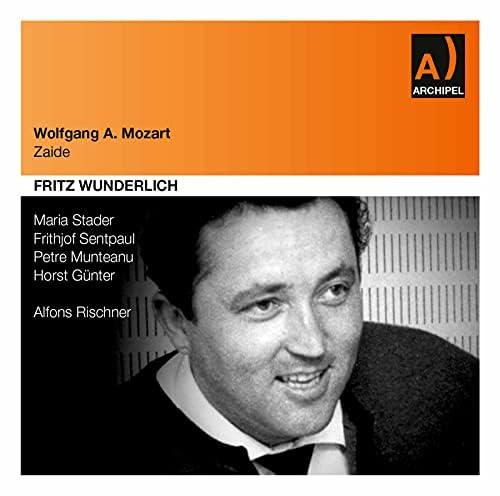 Maria Stader, Fritz Wunderlich, Frithjof Sentpaul, Stuttgart Radio Symphony Orchestra & Alfons Rischner