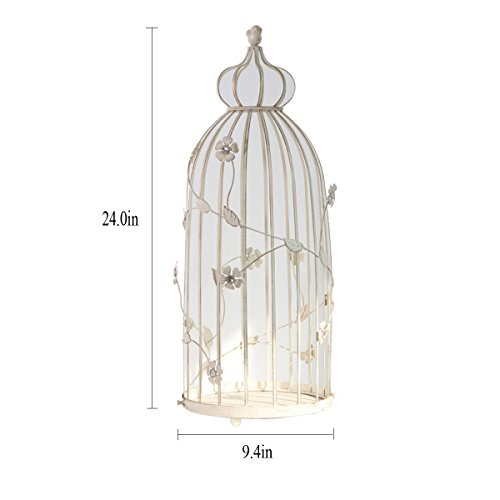HQQ Fleur Pot Rack Cage Oiseau Fer bougeoir Fleur Stand décoration Salon de la Maison décorations Artisanat