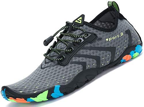 Unisex Zapatos de Agua Deportes Acuáticos Calzado de Natación Escarpines Hombre Mujer...