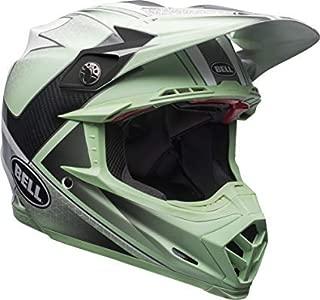 Bell Moto-9 Flex Off-Road Motorcycle Helmet (Hound Gloss Green/White/Black, Small)