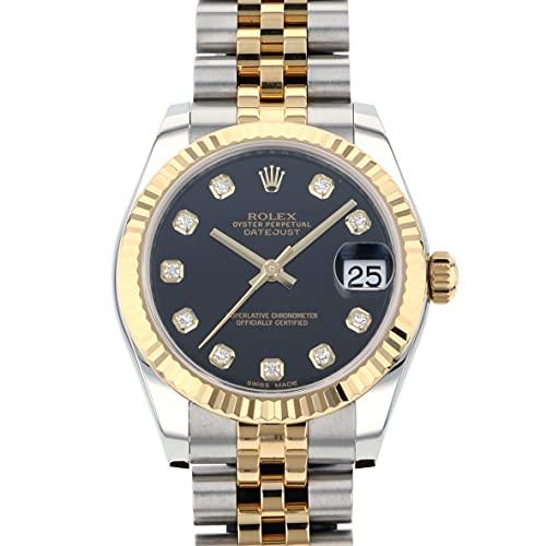 ロレックス ROLEX デイトジャスト 178273G ブラック文字盤 中古 腕時計 レディース (W190306) [並行輸入品]