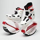 gengyouyuan Elastische Schuhe Leicht aufspringen Space Bouncer Springende Schuhe Stilt Rebound...
