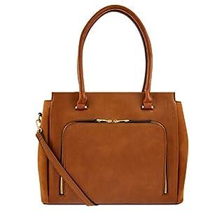 Accessorize London Morgan Work Tote Women's Handbag (Tan)