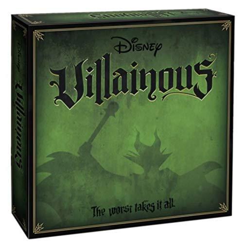 BricoLoco. Juego Divertido de Mesa Disney VILLAINOUS versión en Castellano