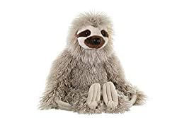 Image: Wild Republic Three-Toed Sloth Plush, Stuffed Animal, Plush Toy, Gifts for Kids, Cuddlekins 12 Inches