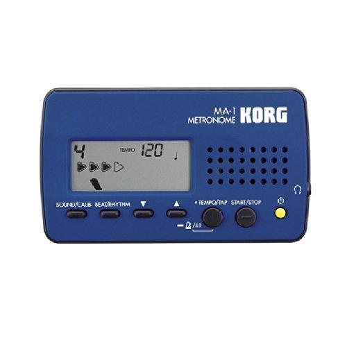 METRONOMO ELECTRONICO - Korg (MA.1) (Extra Plano) (Aguja Digital) (Salida de Auriculares)