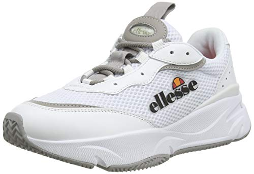 ellesse Massello, Zapatillas Mujer, Blanco (White Wht), 38 EU