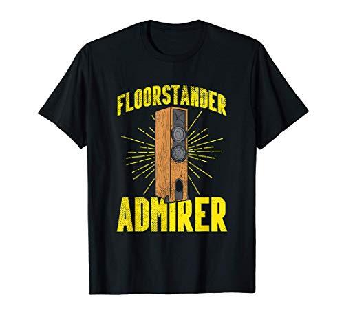 Altavoz De Suelo Ingeniero De Sonido Amplificador Audiófilo Camiseta