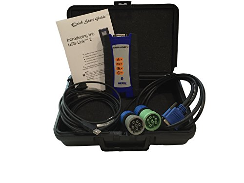 Diesel Laptops NEXIQ Technologies 124032 USB-Link 2 Connector with 12 Month TruckFaultCodes Membership