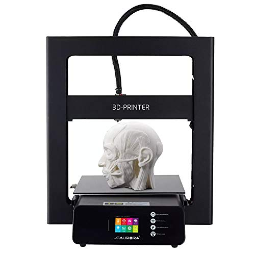 JUN A5 / A5S Mis à Niveau DIY Kit d'imprimante 3D 305x305x320mm Taille d'impression Reprise de Panne de Courant et Détection de Fil-Out avec 2,8 Pouces Écran Tactile
